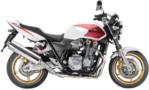 CB1300 White / Red 2010 A