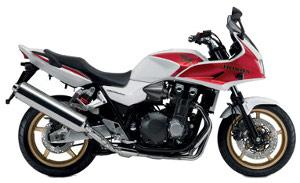CB1300 White / Red 2010 B