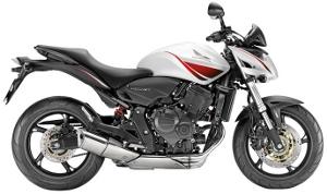 CB600F Hornet White 2010