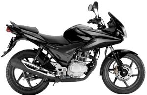 CBF125 Black 2010