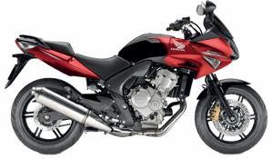CBF600 Red 2010