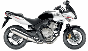 CBF600 White 2010