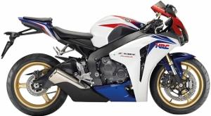 CBR1000RR White HRC 2010