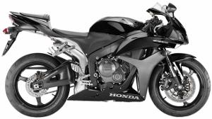 CBR600R Black 2010