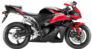 CBR600R Black / Red 2009