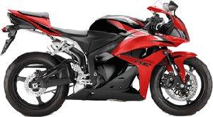 CBR600R Black / Red 2010