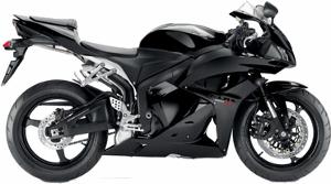 CBR600R Monotone Black 2010