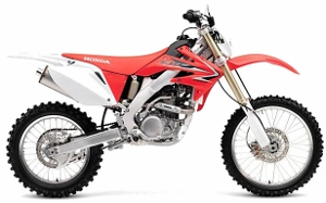 CRF250X Red 2010