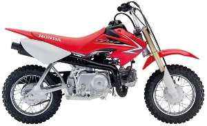 CRF50F Red 2010