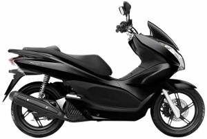 PCX125 Black 2010