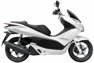 PCX125 White 2010