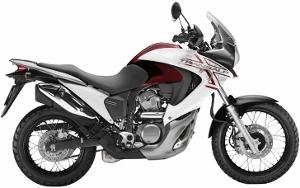 XL700V Transalp White / Red 2010